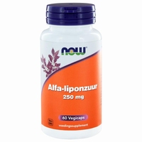 NOW Alfaliponzuur 250mg 60cap
