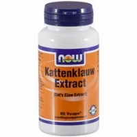 NOW kattenklauw extract  Cat's claw 60caps