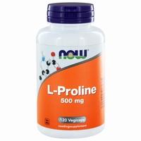 NOW L-Proline 500mg 120vc