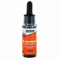 NOW Vitamine E liquid 13650IE 30ml