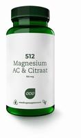 AOV  512 Magnesium AC & citraat 60tab