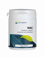 Springfield NAC N Acetyl L cysteine 500mg 120vcaps