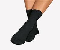 Bort 123300 Soft socks superzacht drukvrij extra wijd beige