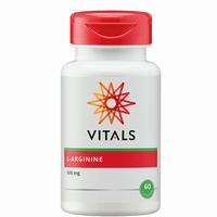 Vitals L-arginine 500 mg 60vcap