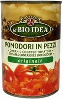 Bioidea Pomodori in pezzi tomatenstukjes BIO 400g
