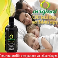 Original CBD Total Sleep met 4% Hennepolie 100ml