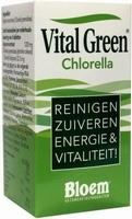 Bloem chlorella vital green  600tab