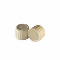 Dop 28mm wit PE met garantiesluiting 1st
