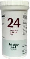 Pfluger Schusslerzout nr. 24 Arsenum jodatum D6 400tab