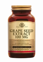 Solgar 1355 Grape Seed Extract 100 mg (Druivenpit) 30caps