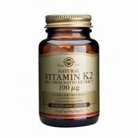 Solgar 3603 Vitamine K2 100 µg (MK-7) 50caps