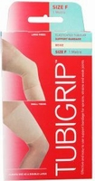 Tubigrip bandage maat F (omvang 28-36cm) beige 1mtr