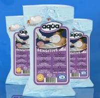 Aqua vochtige washandjes sensitive 12st