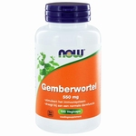 NOW Gemberwortel 550mg 100cap