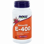 NOW Vitamine E 400IU mixed tocopheryl 100sft