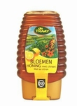 Traay Bloemenhoning met citroen in knijpfles EKO 375g