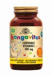 Solgar 2804 Kangavites Vitamine C 100 mg 90kauwtabl