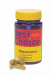 Best Choice Resveratrol 30vcap