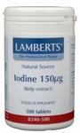 Lamberts Kelp (jodium) 500tab