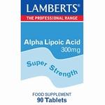 Lamberts Alfa liponzuur 300 mg 90tab