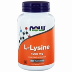 NOW L-Lysine 1000mg 100tabl