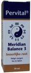 Pervital Meridian balance  3 innerlijke rust 30ml