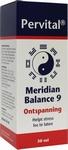 Pervital Meridian balance  9 ontspanning 30ml