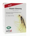 activO Power Ginseng  45caps