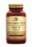 Solgar 52908 Vitamin D3 100 µg/4000 IU 120vcaps