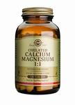 Solgar 0504 Chelated Calcium/Magnesium 1:1 120tabl