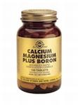 Solgar 0516 Calcium Magnesium Plus Boron 250tabl