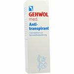 Gehwol Anti-transpirant 125ml