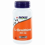 NOW L-Ornithine 500mg 60gcaps