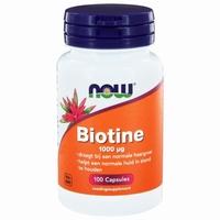 NOW Biotine 1000mcg 100cap