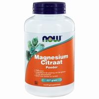 NOW Magnesium citraat poeder 227g