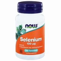 NOW Selenium 100mcg yeastfree 100tab