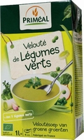 Primeal Veloutesoep van groene groenten BIO 1ltr