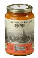 Aman Prana rode palmolie Bio extra virgin 1600ml