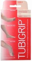 Tubigrip bandage maat E (omvang 24-28cm) beige 1mtr