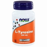 NOW L-Tyrosine 500mg 60cap
