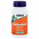 NOW Selenium gistvrij 200mcg 90vc