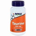NOW Taurine 500mg 100cap