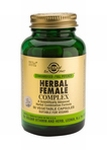 Solgar 4163 Herbal Female Complex 50vcaps