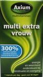 Axium Multi extra vrouw 300% 60gcaps