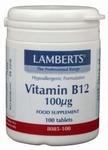 Lamberts Vitamine  B12 100 mcg 100tab