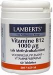 Lamberts Vitamine  B12 methylcobalamine 1000 mcg 60tab