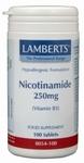 Lamberts Nicotinamide 250 mg 100tab