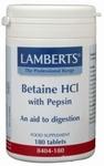 Lamberts Betaine HCL pepsine 180tab