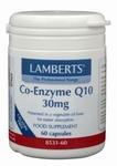 Lamberts Co enzym Q10 30 mg 60vc