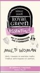 Royal Green Multi woman  60tab